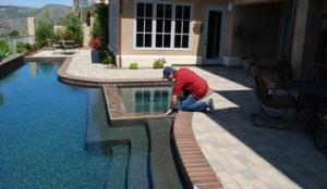 Pool inspection performed in Rancho Santa Fe
