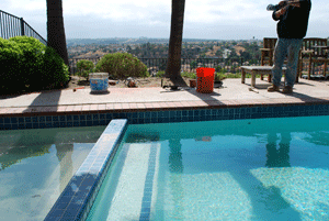 Pool tile repair in Penasquitos-a