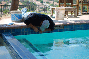 Pool tile repair in Penasquitos-2