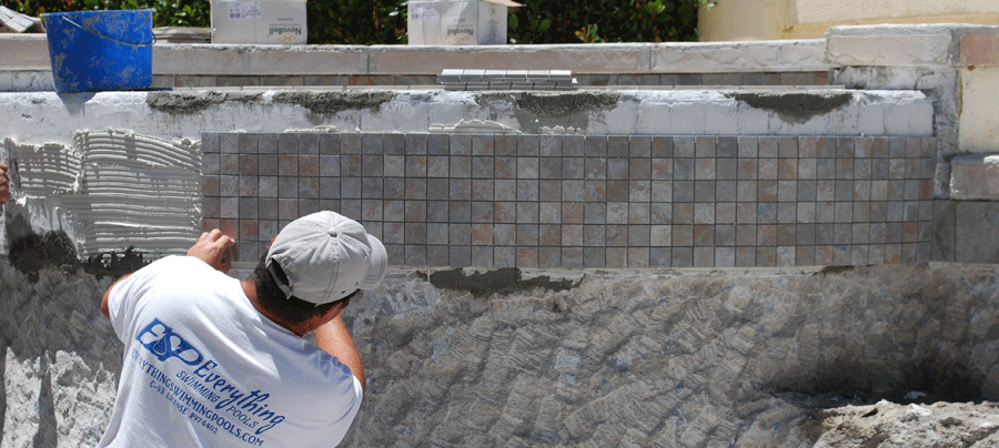 How can you benefit with having new pool tile in san diego for New pool installation